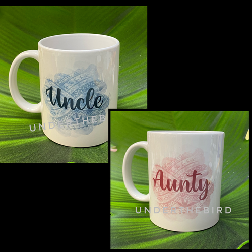 Aunty & Uncle Mug