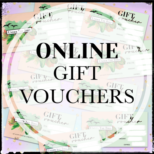 Underthebird Online Gift Voucher