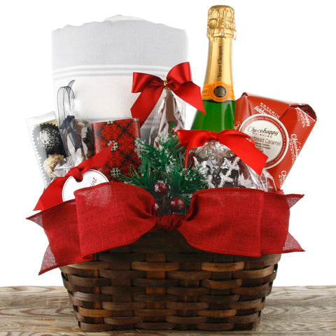 Christmas by the fire Ottawa Christmas Gift Baskets