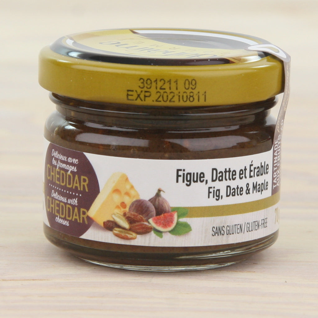 Fig, Date & Maple Cheese Topper