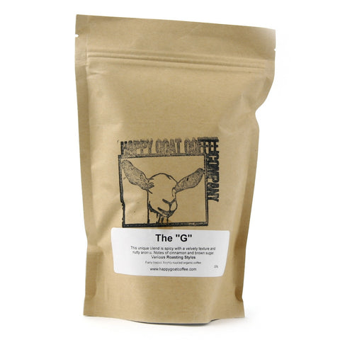 "The ""G"" Happy Goat Coffee"