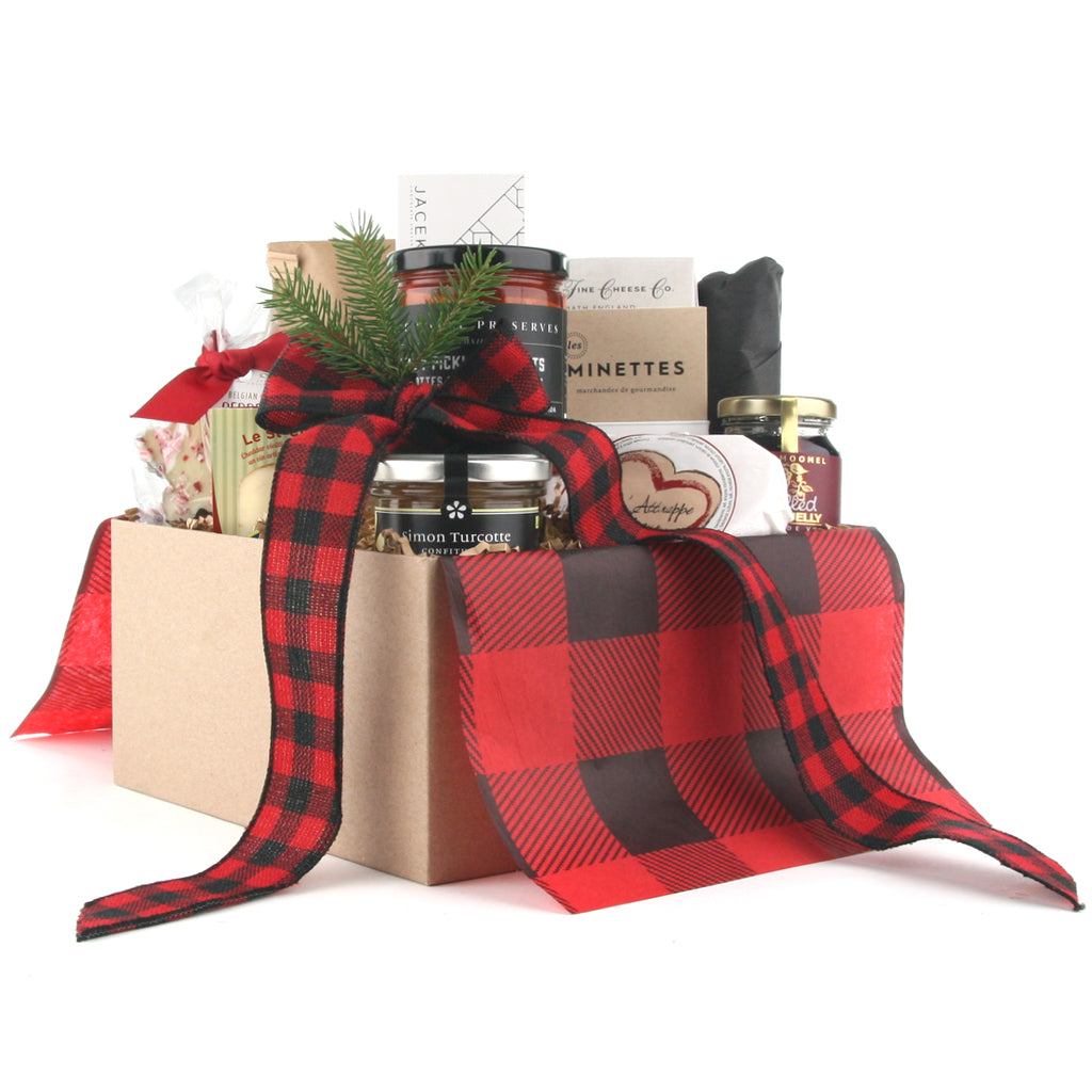 Holiday Feast Christmas Gift Basket