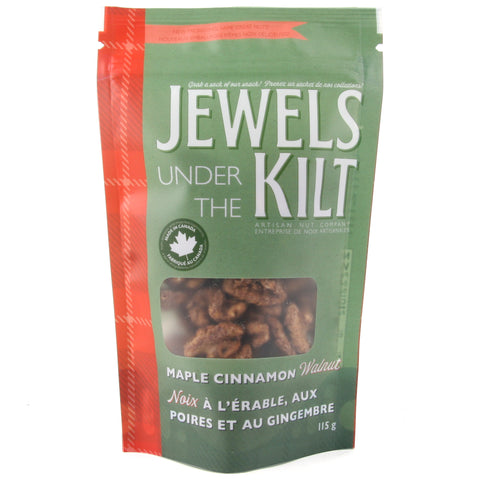 Jewels Under the Kilt Maple Cinnamon Walnuts