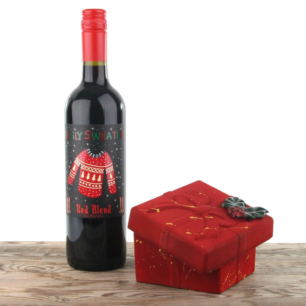 Wine & Chocolate Celebration Christmas Gift Box