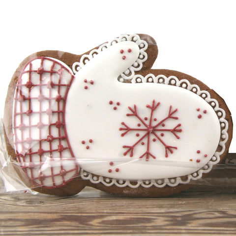 Winter Gingerbread Mitten