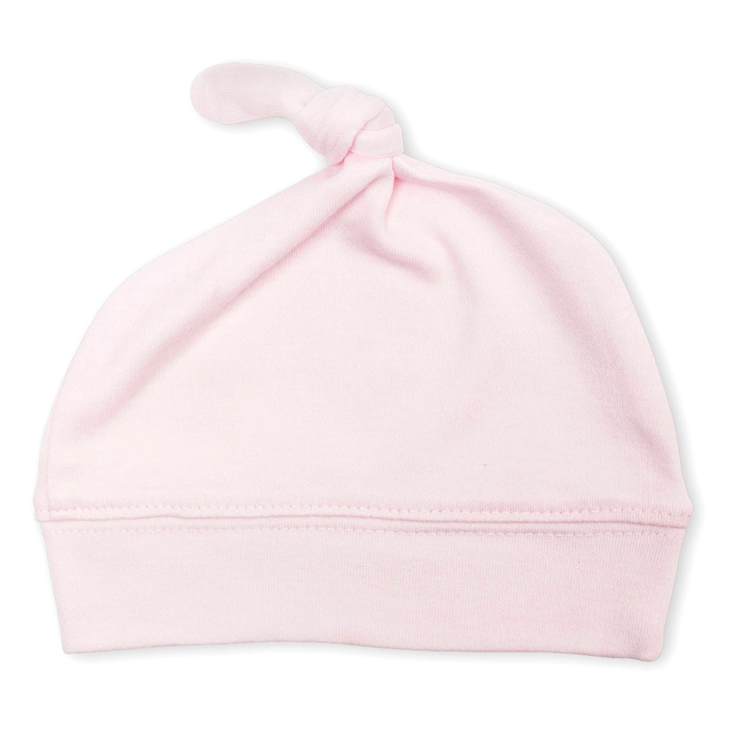 Pink Bamboo Cotton Baby Hat