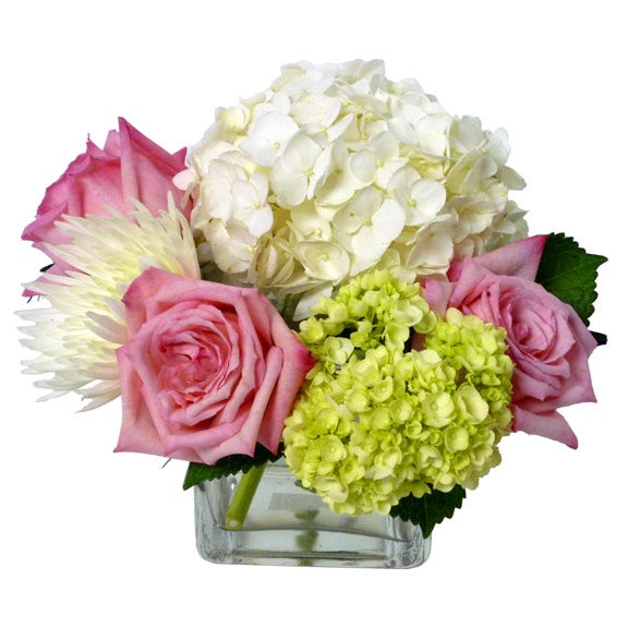 Soft Elegance Flower Arrangement