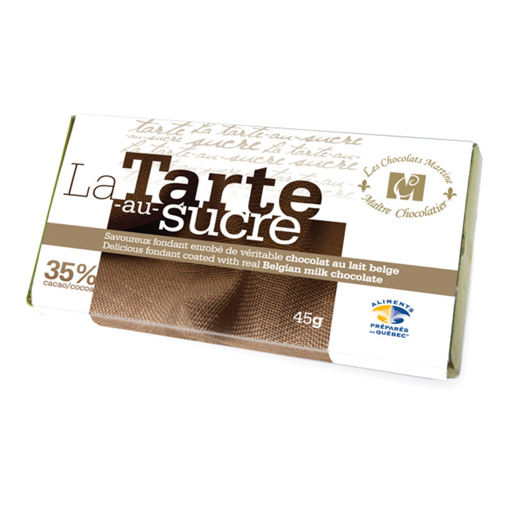 La Tarte au sucre chocolate bar