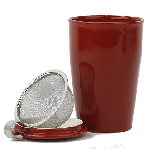 Set of 2 Cranberry Kati Cups
