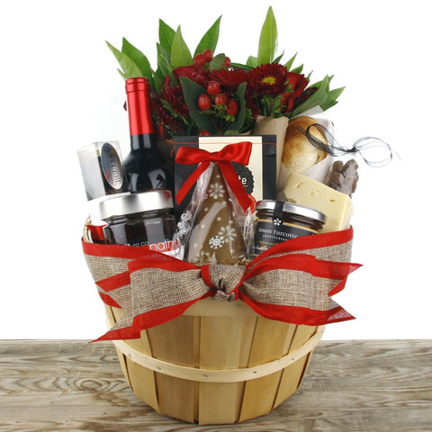 The Christmas Gourmet Gift Basket