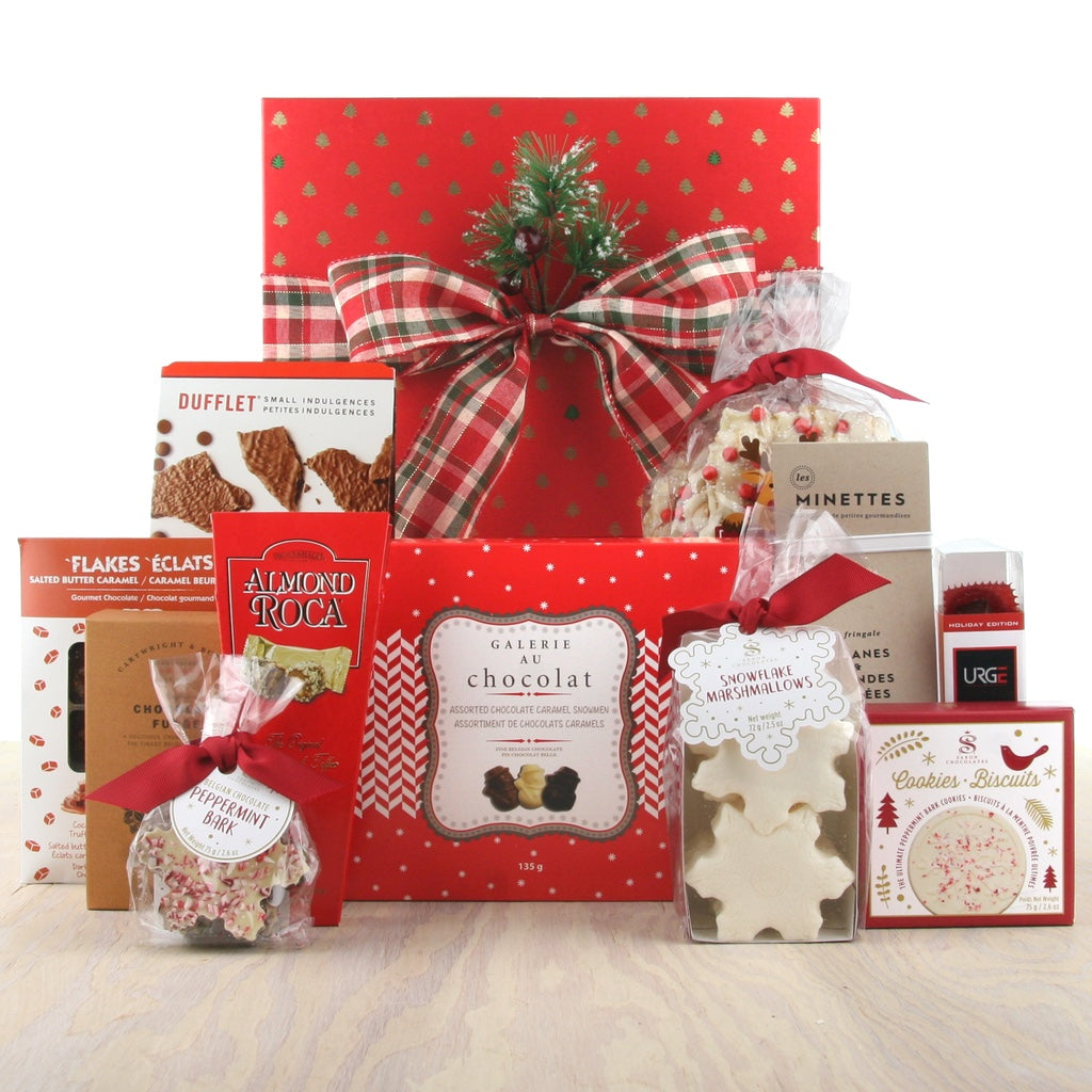 Holiday Treats for Sharing Christmas Gift Box