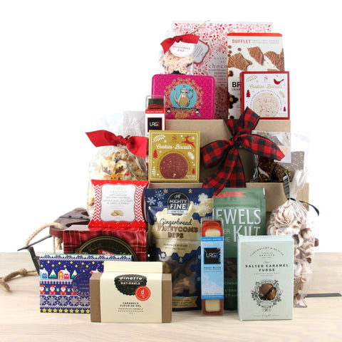 Visit From St Nicks Christmas Gift Basket