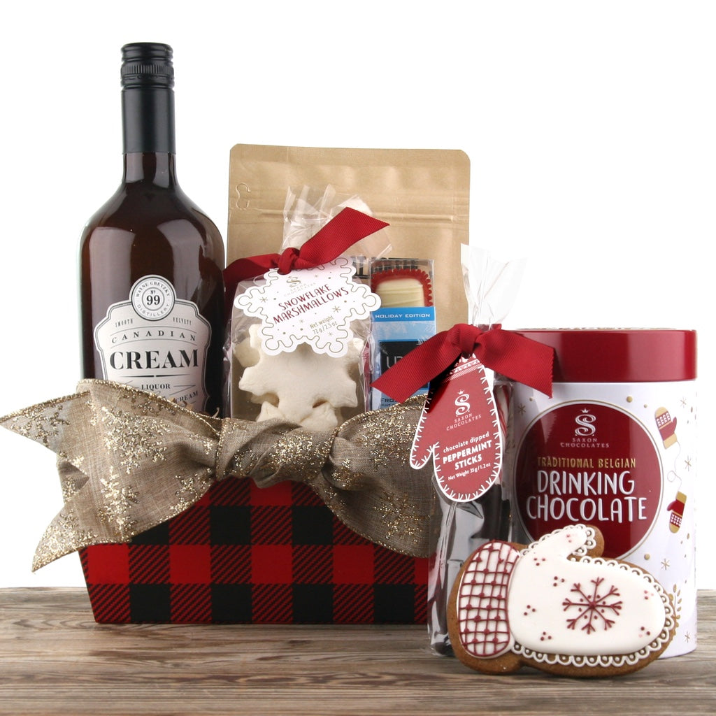 Warming Joy Christmas Gift Basket