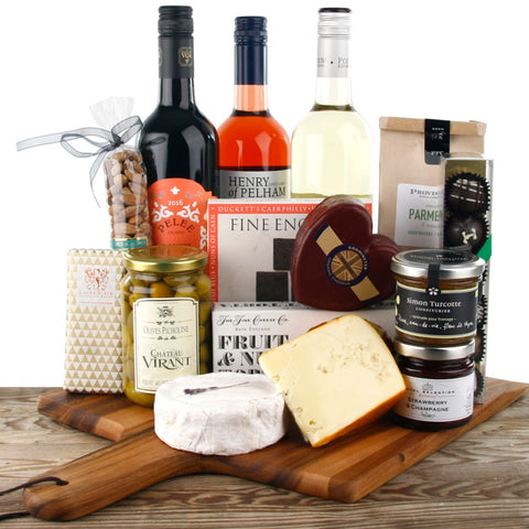 Wine & Cheese Gourmet Gift Box