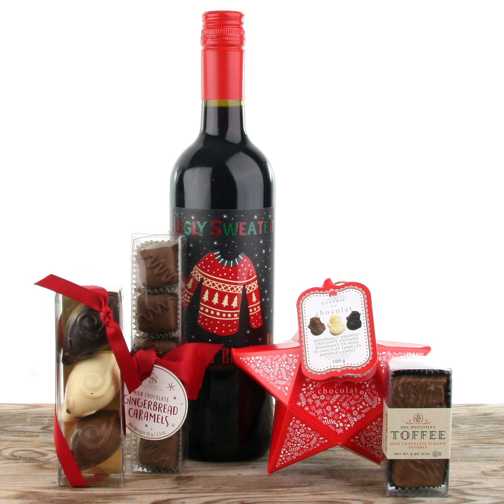 Wine and Chocolate Tasting Christmas Gift