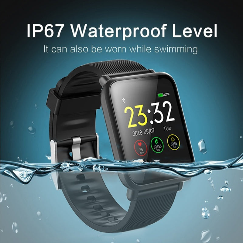 Affordable Smartwatch with Blood Pressure/oxygen Heart Rate Monitor - Smart Watch Shop
