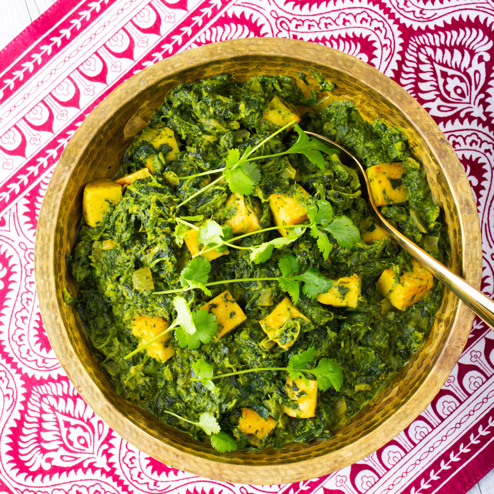 Indian Saag Paneer Revive Cafe