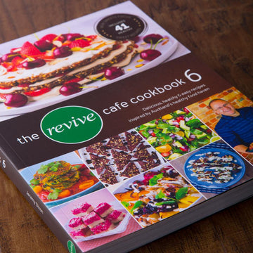 The Revive Cafe Cookbook 6 (Brown)