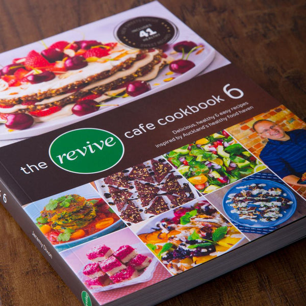 The Revive Cafe Cookbook 6 (Brown) - Revive Cafe