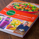 The Revive Cafe Cookbook 5 (Orange) - Revive Vegan Cafe