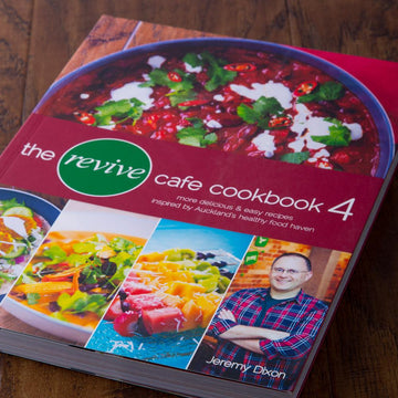 The Revive Cafe Cookbook 4 (Red)