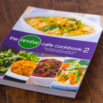 The Revive Cafe Cookbook 2 (Purple)