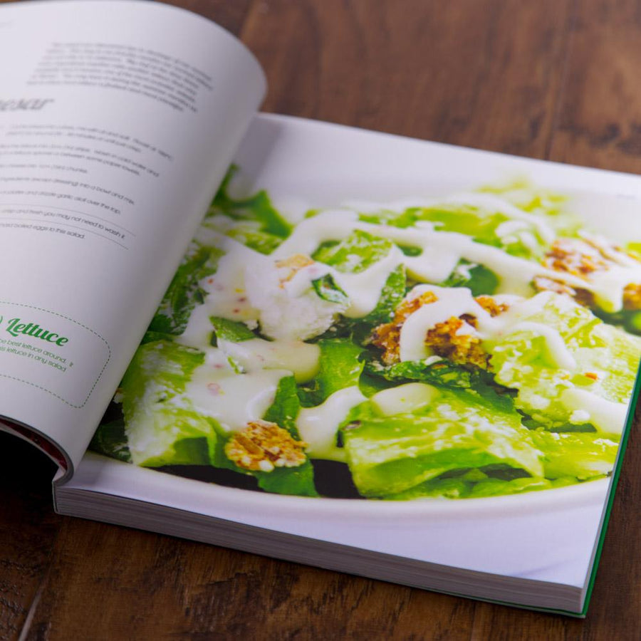The Revive Cafe Cookbook 1 (Green)
