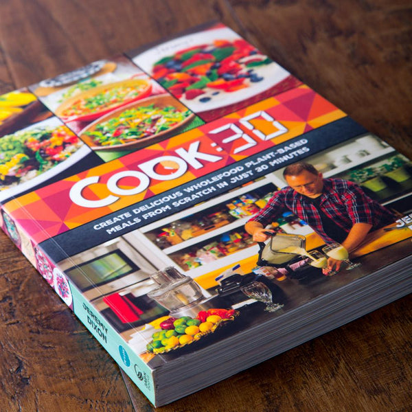 Cook:30 Cookbook Series 1 (Episodes 1-26) - Revive Vegan Cafe