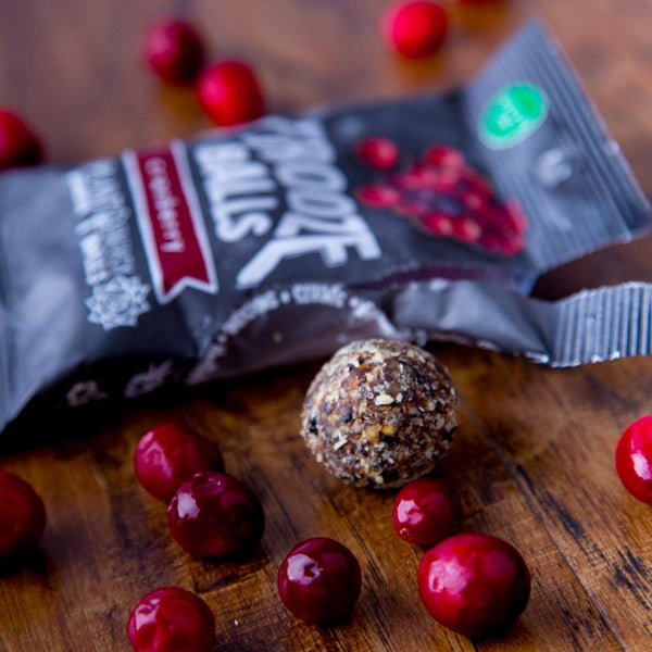 Frooze Balls 5 Pack - Cranberry - Revive Vegan Cafe