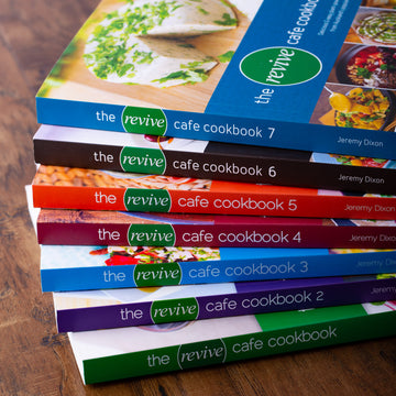 Revive Cafe Cookbooks (1-7) SET