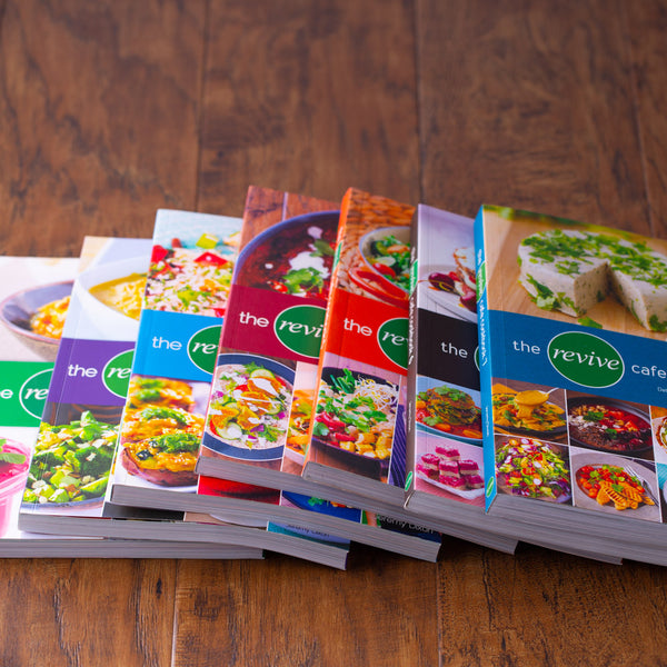 Revive Cafe Cookbooks (1-7) SET - Revive Cafe
