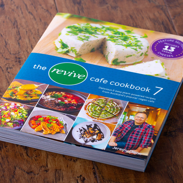 The Revive Cafe Cookbook 7 (Teal) - Revive Vegan Cafe
