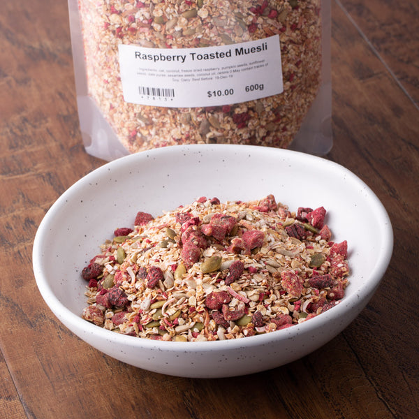 Revive Muesli - Raspberry Toasted 600g - Revive Cafe
