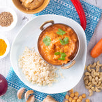 Reheat Hotpot: Indonesian Chickpea Satay w Brown Rice - Revive Cafe