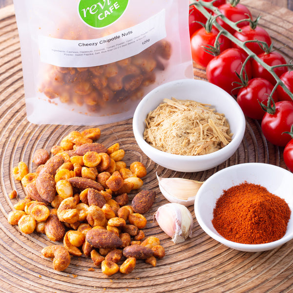 Cheezy Chipotle Nuts 120g - Revive Vegan Cafe