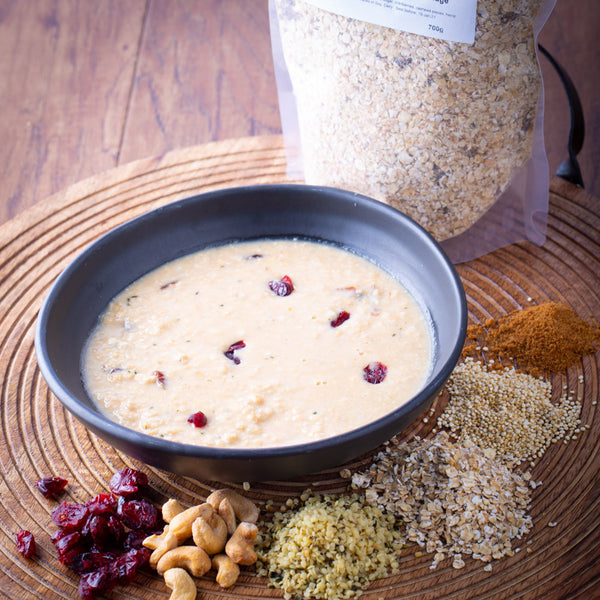 Ravishing Cranberry & Hemp Porridge 700g - Revive Vegan Cafe