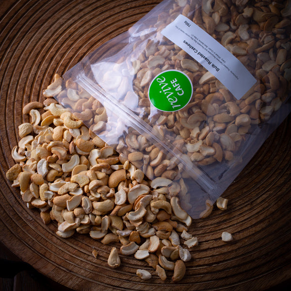 Bulk Roasted Cashews - 750g - Revive Vegan Cafe