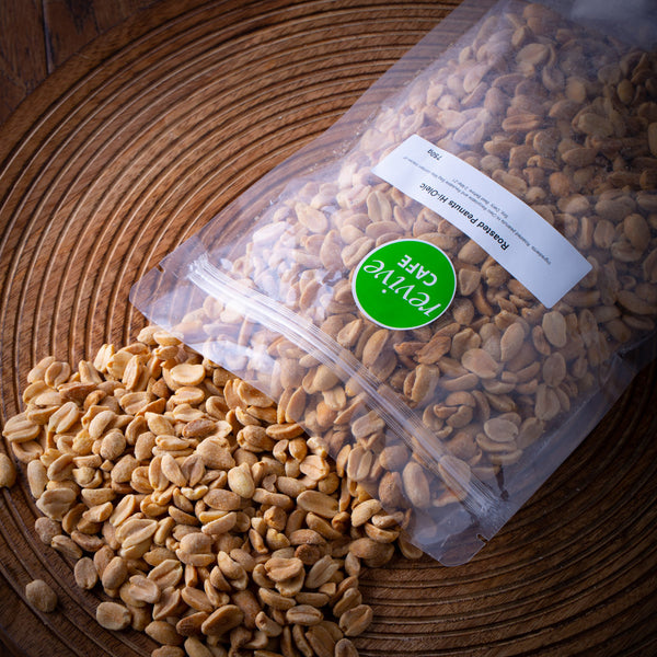 Bulk Roasted Peanuts - 750g - Revive Vegan Cafe