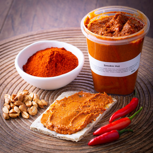 Smokin Hot Nut Butter 400g - Revive Vegan Cafe