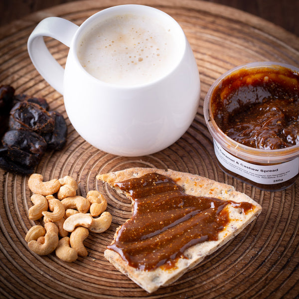 Revive Caramel & Cashew Spread 250g - Revive Cafe