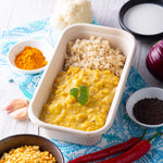 Reheat Hotpot: Curried Roasted Cauliflower Dahl w Brown Rice - Revive Cafe