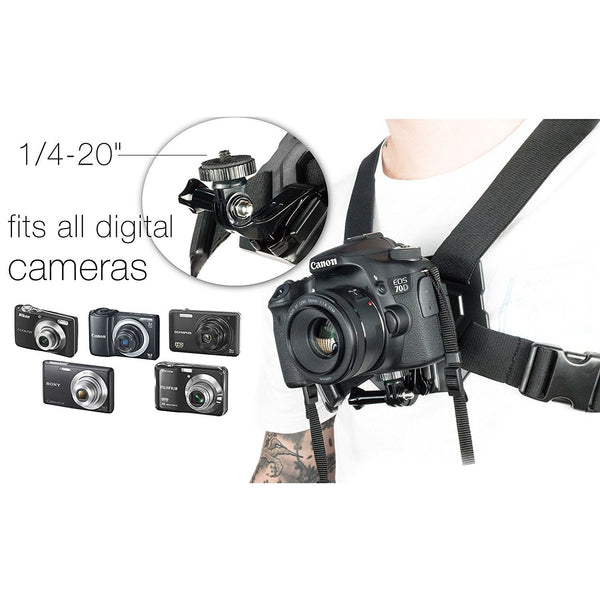 DSLR Chest Mount:Velocity Clip