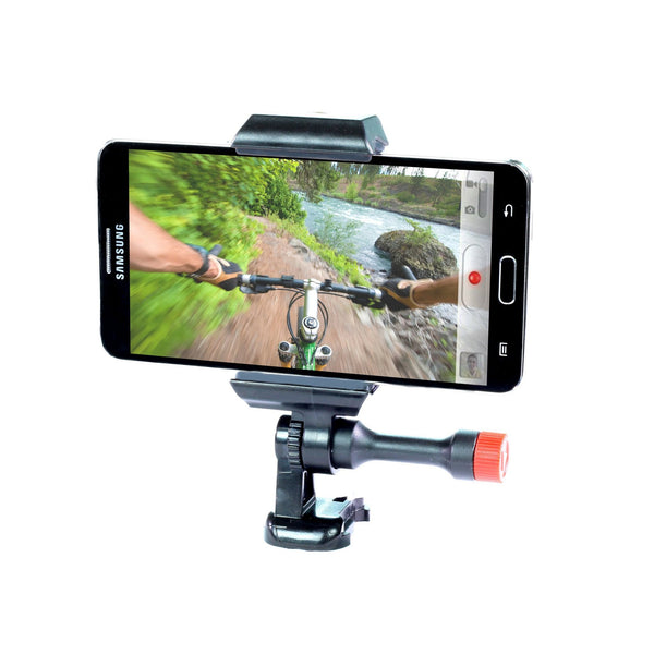 Samsung Galaxy S6 and S5 & Note 3, 4 Bike Handlebar Mount POV filming & Other Cycling APPS, Film Your Cool Bike Rides or Just Use GPS.:Velocity Clip
