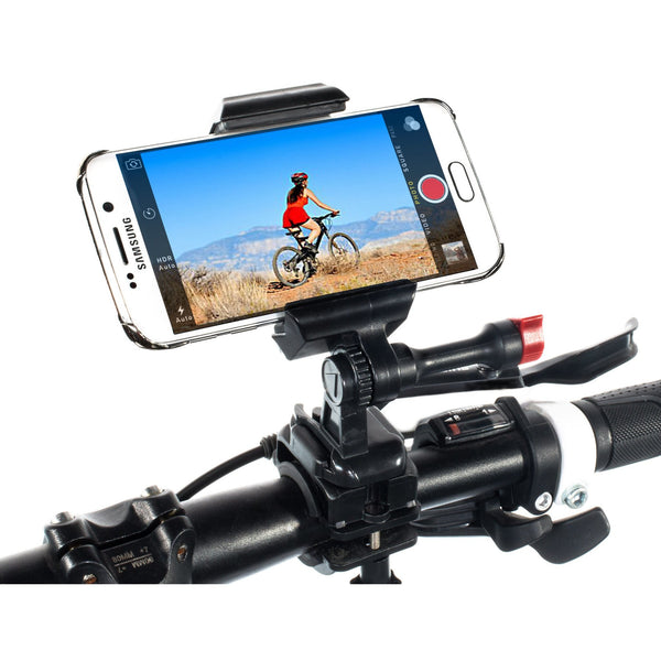 Samsung Galaxy S6/S6 Edge Bike Handlebar Mount for Filming Your Rides:Velocity Clip