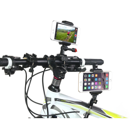 iPhone 6 Mountain Bike Mounts For Handlebars, Frame, and Stem:Velocity Clip