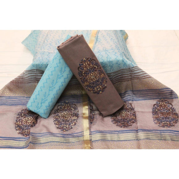 Pure Cotton Hand Block Printed Suits