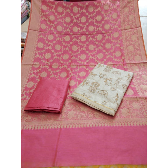 Top Pure Silk Warli Work