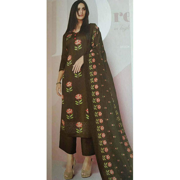 Cotton Rayon Palazzo Suit Material Set