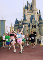 Running with Buddy Pouch at Disney