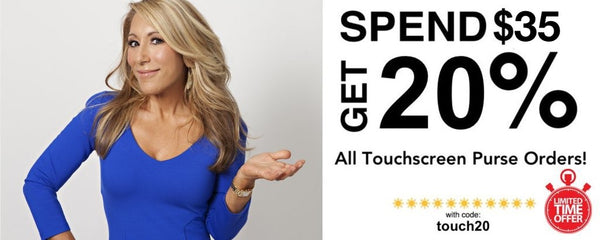 Lori Greiner Touchscreen Purses